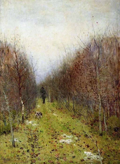 """""""情绪风景""""画家 俄罗斯列维坦(1860-1900)插图6"""