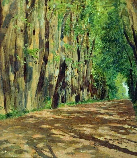 """""""情绪风景""""画家 俄罗斯列维坦(1860-1900)插图9"""