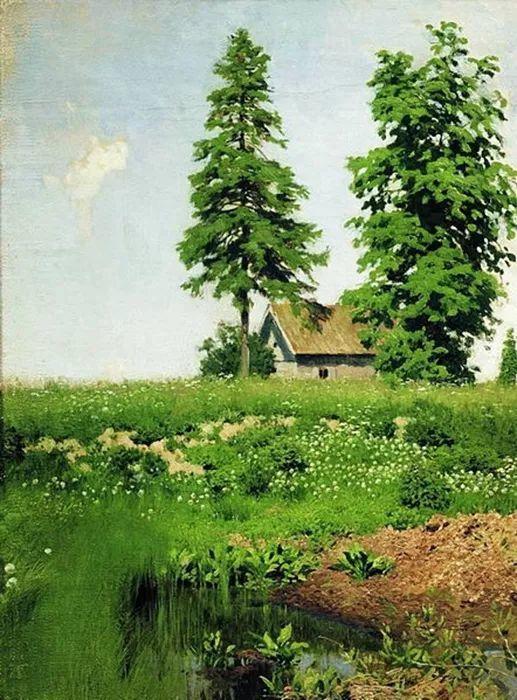 """""""情绪风景""""画家 俄罗斯列维坦(1860-1900)插图11"""