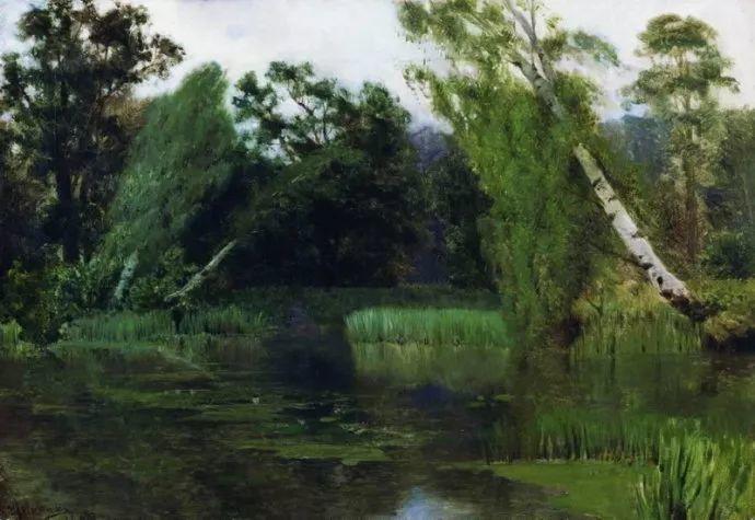 """""""情绪风景""""画家 俄罗斯列维坦(1860-1900)插图12"""