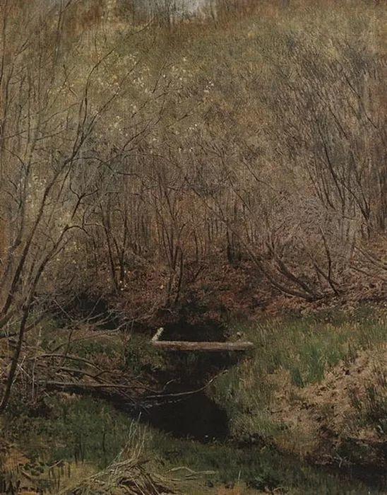 """""""情绪风景""""画家 俄罗斯列维坦(1860-1900)插图13"""