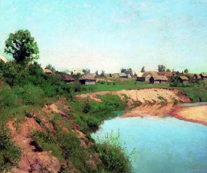"""""""情绪风景""""画家 俄罗斯列维坦(1860-1900)插图14"""