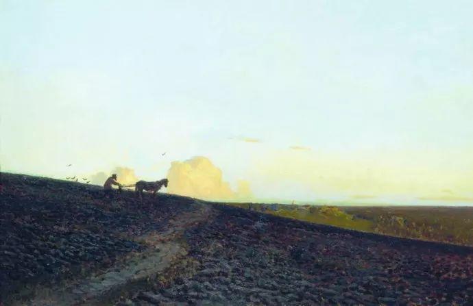 """""""情绪风景""""画家 俄罗斯列维坦(1860-1900)插图16"""