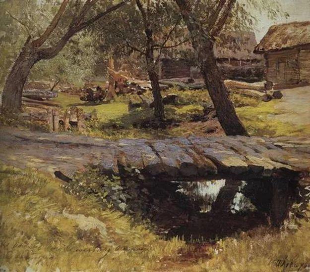 """""""情绪风景""""画家 俄罗斯列维坦(1860-1900)插图18"""