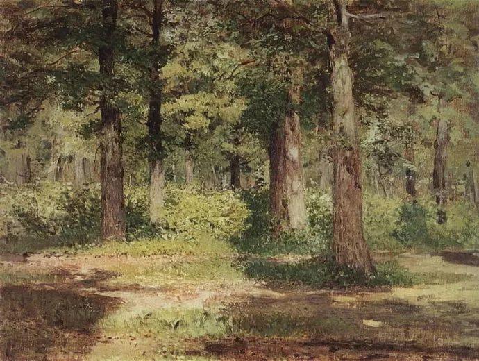 """""""情绪风景""""画家 俄罗斯列维坦(1860-1900)插图19"""