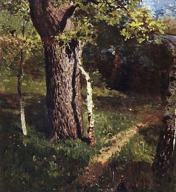 """""""情绪风景""""画家 俄罗斯列维坦(1860-1900)插图20"""
