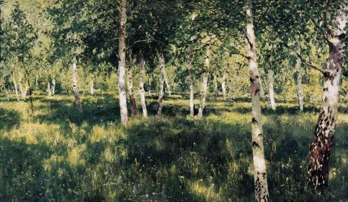 """""""情绪风景""""画家 俄罗斯列维坦(1860-1900)插图23"""