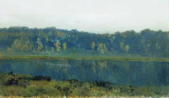 """""""情绪风景""""画家 俄罗斯列维坦(1860-1900)插图28"""