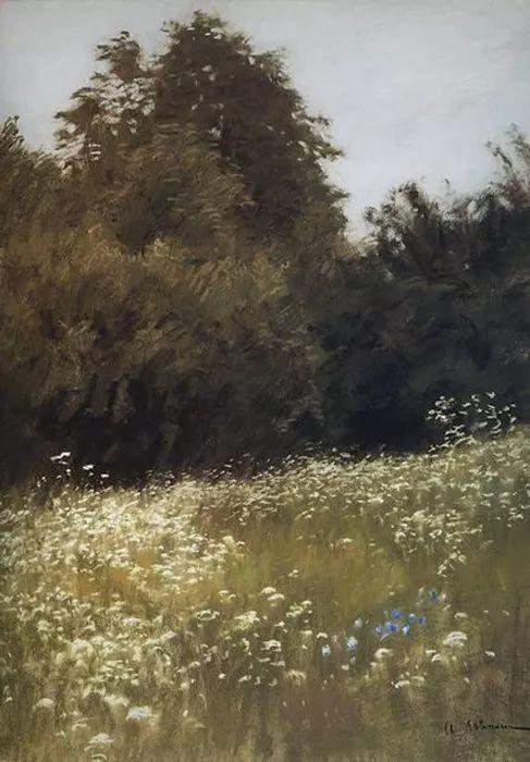 """""""情绪风景""""画家 俄罗斯列维坦(1860-1900)插图32"""