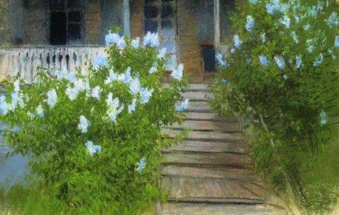 """""""情绪风景""""画家 俄罗斯列维坦(1860-1900)插图37"""