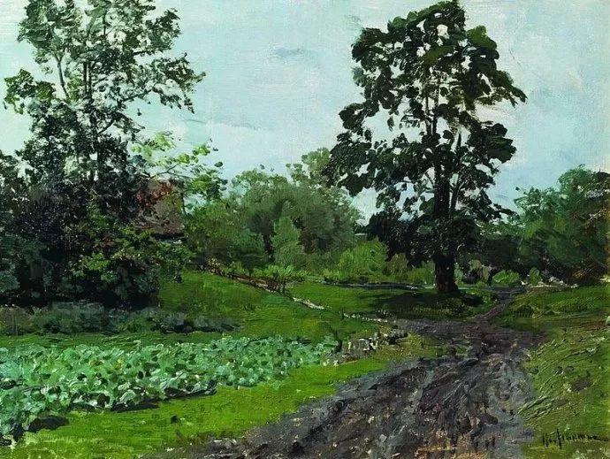 """""""情绪风景""""画家 俄罗斯列维坦(1860-1900)插图42"""
