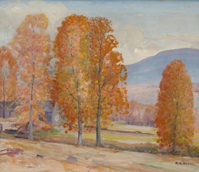 美国艺术家Karl Albert Buehr (1866–1952)插图8