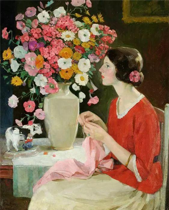 美国艺术家Karl Albert Buehr (1866–1952)插图10