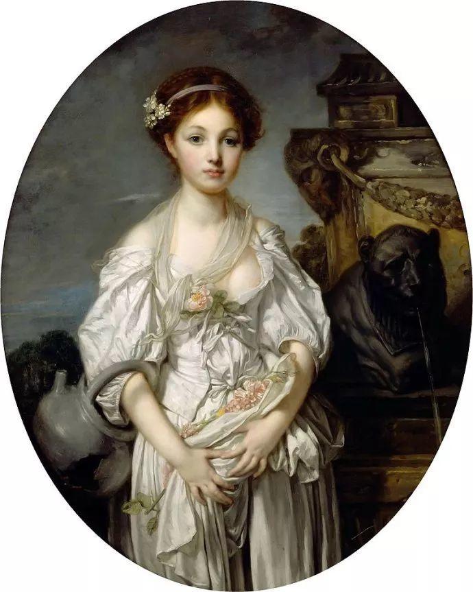 18世纪肖像画新风格 法国画家格勒兹(1725-1805)插图