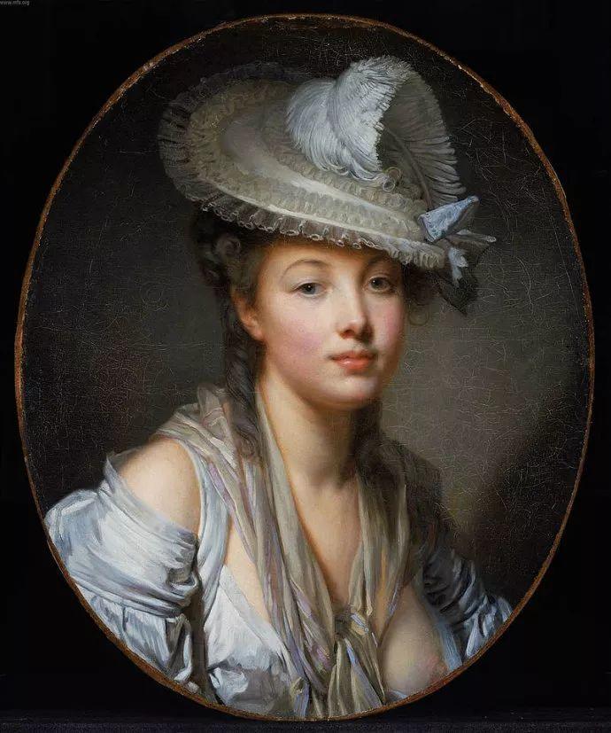 18世纪肖像画新风格 法国画家格勒兹(1725-1805)插图1