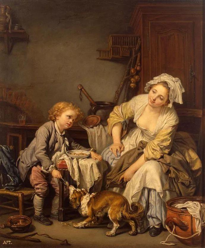 18世纪肖像画新风格 法国画家格勒兹(1725-1805)插图2