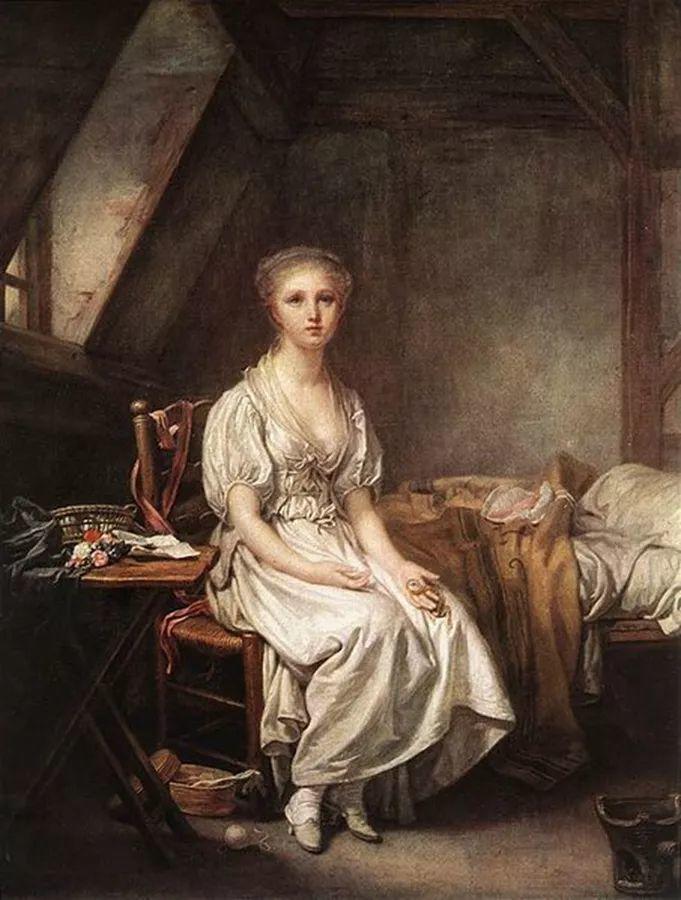 18世纪肖像画新风格 法国画家格勒兹(1725-1805)插图4