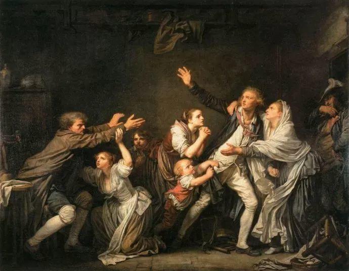 18世纪肖像画新风格 法国画家格勒兹(1725-1805)插图7
