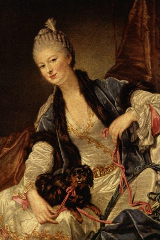 18世纪肖像画新风格 法国画家格勒兹(1725-1805)插图9