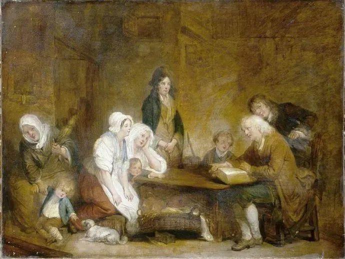 18世纪肖像画新风格 法国画家格勒兹(1725-1805)插图11