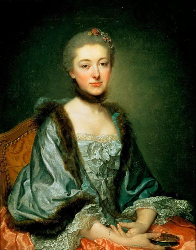 18世纪肖像画新风格 法国画家格勒兹(1725-1805)插图12