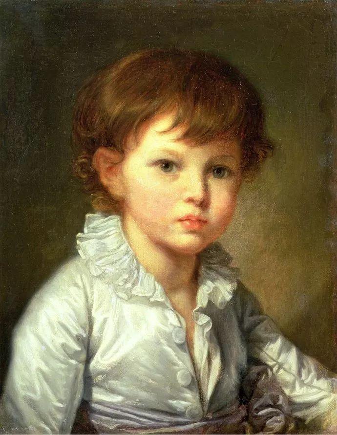 18世纪肖像画新风格 法国画家格勒兹(1725-1805)插图13