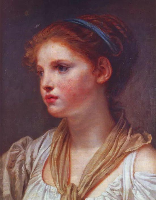 18世纪肖像画新风格 法国画家格勒兹(1725-1805)插图14