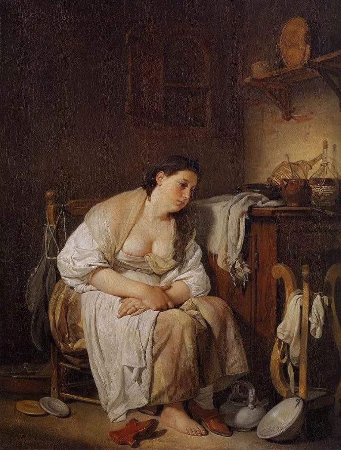 18世纪肖像画新风格 法国画家格勒兹(1725-1805)插图15