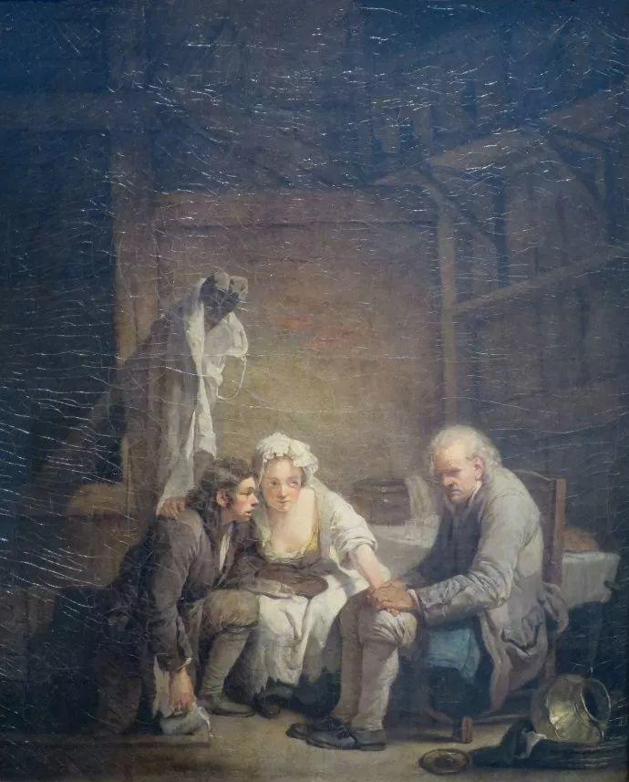 18世纪肖像画新风格 法国画家格勒兹(1725-1805)插图16