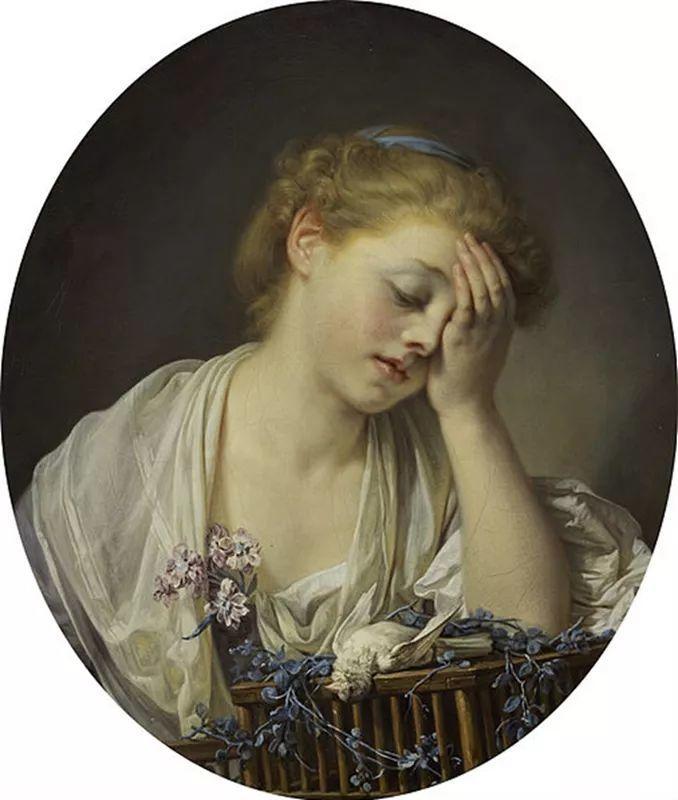 18世纪肖像画新风格 法国画家格勒兹(1725-1805)插图20