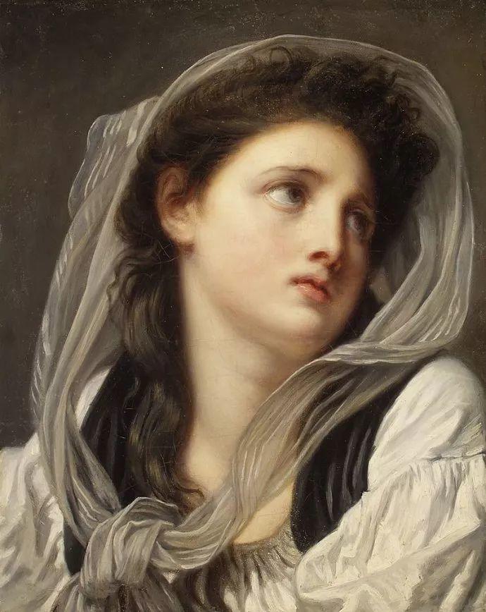 18世纪肖像画新风格 法国画家格勒兹(1725-1805)插图22