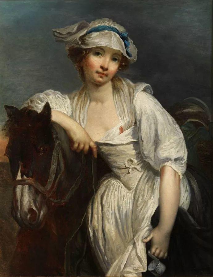 18世纪肖像画新风格 法国画家格勒兹(1725-1805)插图23