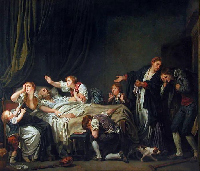 18世纪肖像画新风格 法国画家格勒兹(1725-1805)插图24