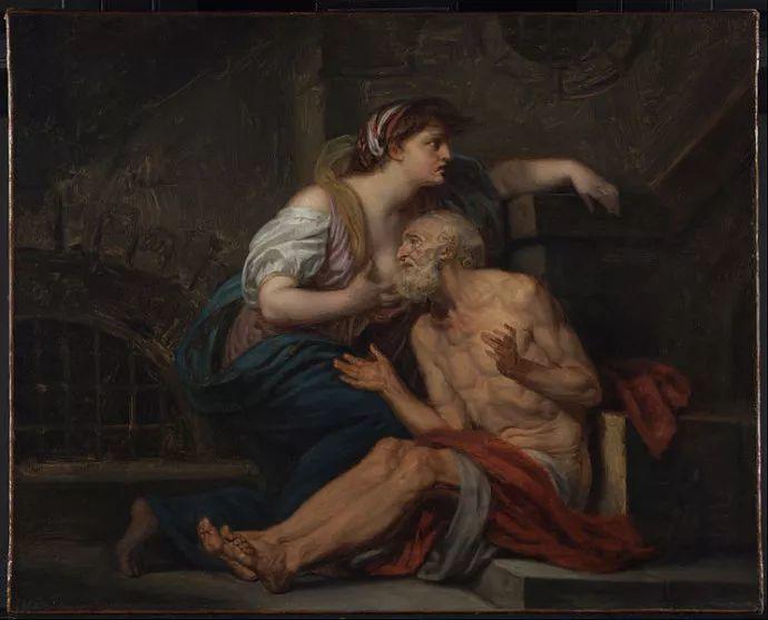 18世纪肖像画新风格 法国画家格勒兹(1725-1805)插图26