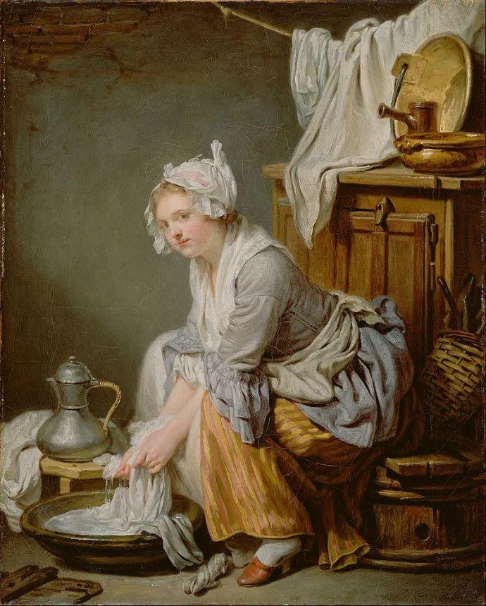 18世纪肖像画新风格 法国画家格勒兹(1725-1805)插图27