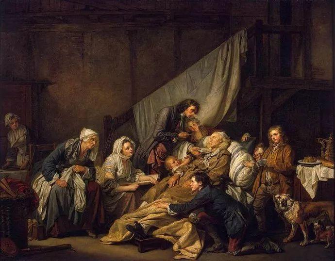 18世纪肖像画新风格 法国画家格勒兹(1725-1805)插图28