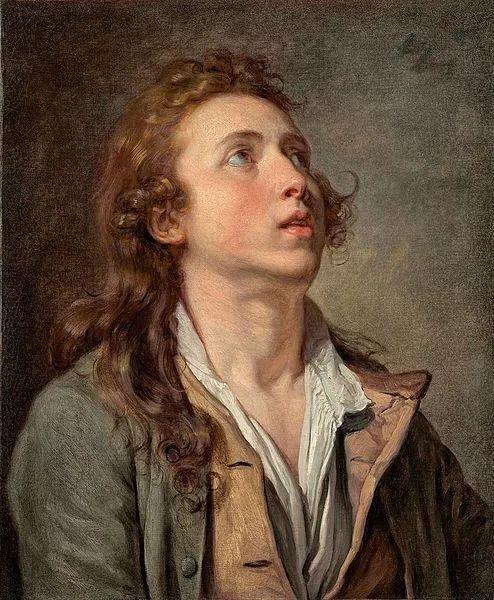18世纪肖像画新风格 法国画家格勒兹(1725-1805)插图30