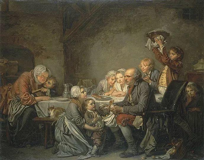 18世纪肖像画新风格 法国画家格勒兹(1725-1805)插图31