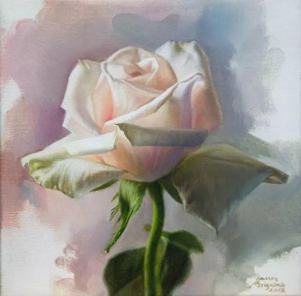 花卉写实 法国Javier Arizabalo作品插图9
