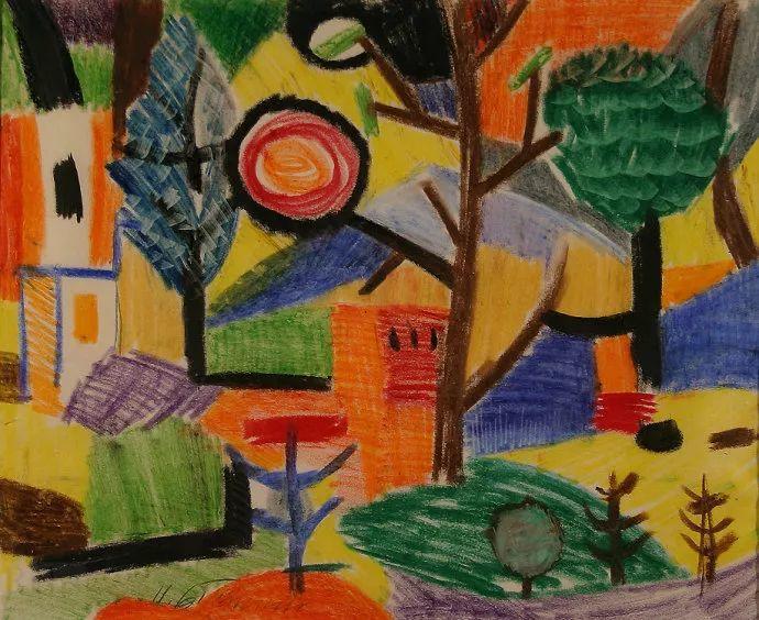 抽象作品 美国画家Ugo Omleto Giannini(1919-1993)插图1