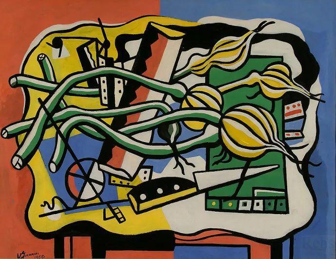 抽象作品 美国画家Ugo Omleto Giannini(1919-1993)插图3