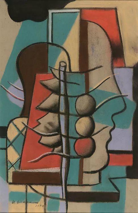 抽象作品 美国画家Ugo Omleto Giannini(1919-1993)插图11