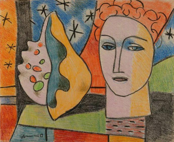 抽象作品 美国画家Ugo Omleto Giannini(1919-1993)插图13