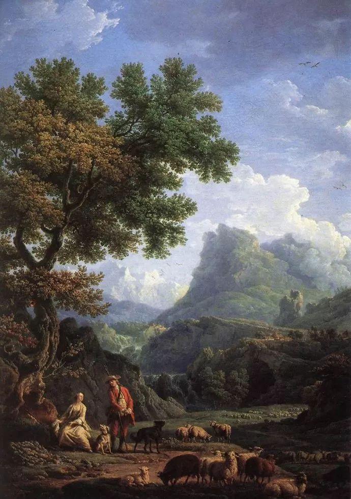 作品气势恢宏 法国18世纪风景画家韦尔内(1714-1789)插图3