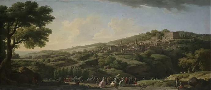 作品气势恢宏 法国18世纪风景画家韦尔内(1714-1789)插图7