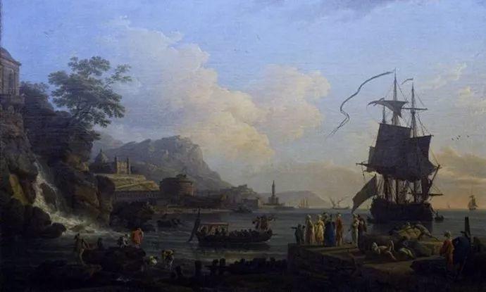 作品气势恢宏 法国18世纪风景画家韦尔内(1714-1789)插图9