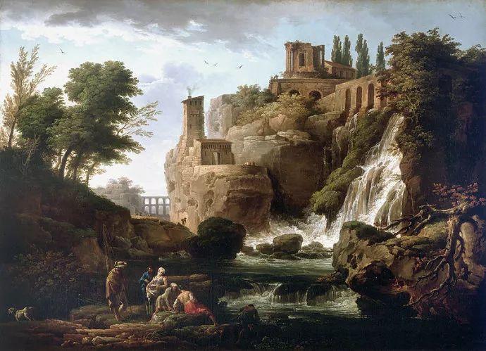 作品气势恢宏 法国18世纪风景画家韦尔内(1714-1789)插图11