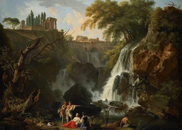 作品气势恢宏 法国18世纪风景画家韦尔内(1714-1789)插图13