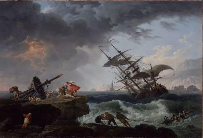 作品气势恢宏 法国18世纪风景画家韦尔内(1714-1789)插图19