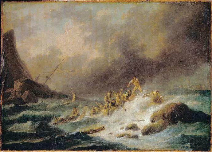 作品气势恢宏 法国18世纪风景画家韦尔内(1714-1789)插图21